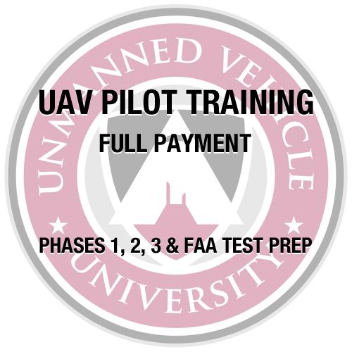 UAV Pilot Training Full Payment