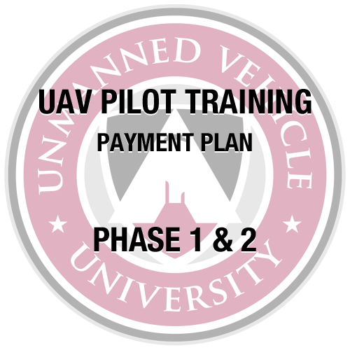 UAV Pilot Training Partial Payment 1