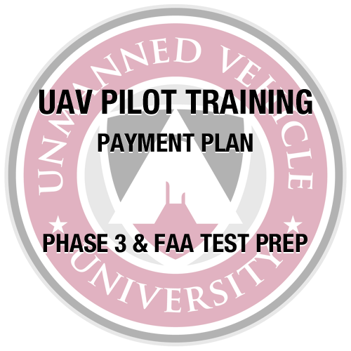 UAV Pilot Training Partial Payment 2