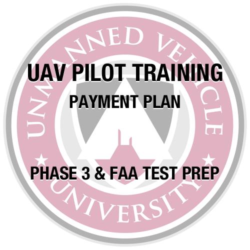 UAV Pilot Training Partial Payment 2