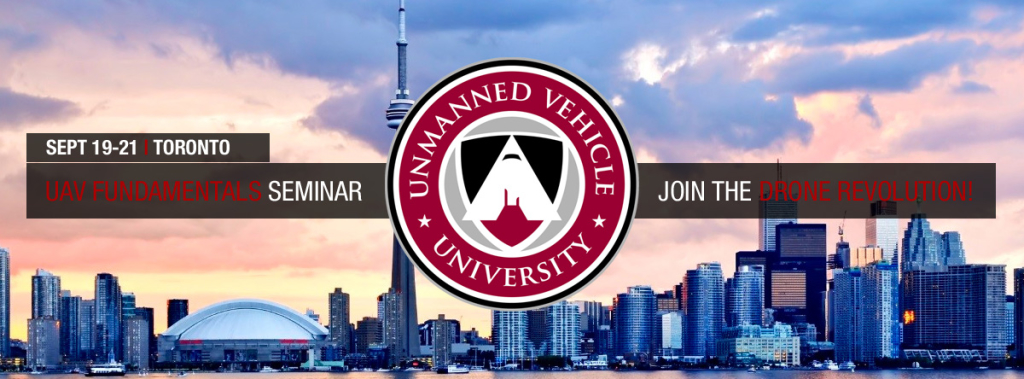 Attend Unmanned Vehicle University's Drone Fundamentals Seminar