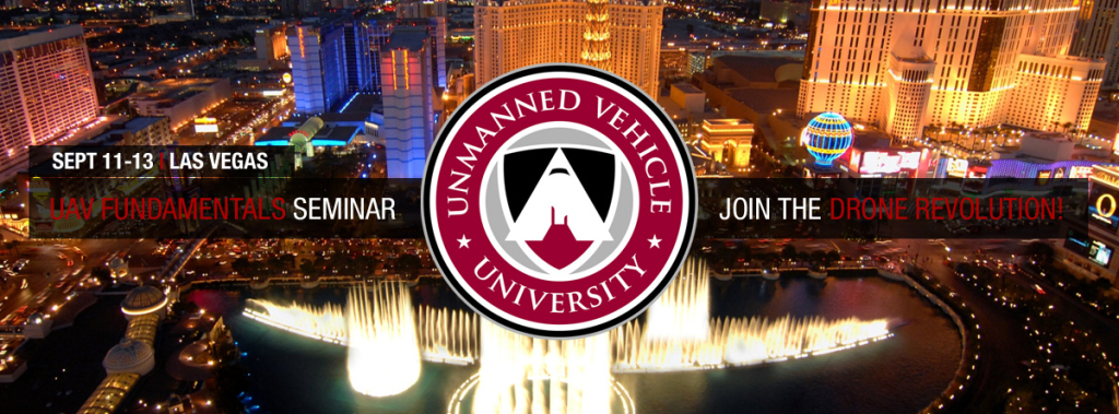 UAV Fundamentals Seminar in Vegas to Learn about  drone pilot training