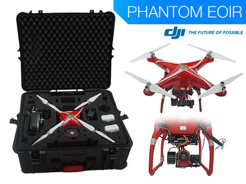 Thermal Infrared Operations with DJI Phantom EOIR