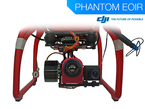 Use the DJI Phantom EOIR for thermal infrared operations