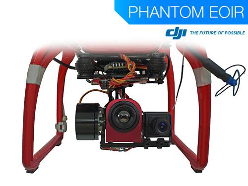Use the DJI Phantom EOIR for thermal infrared operations