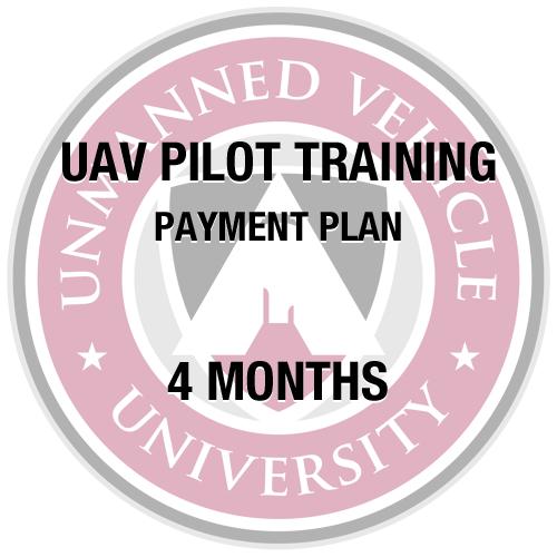 UAV Pilot Training 4 Month Subscription