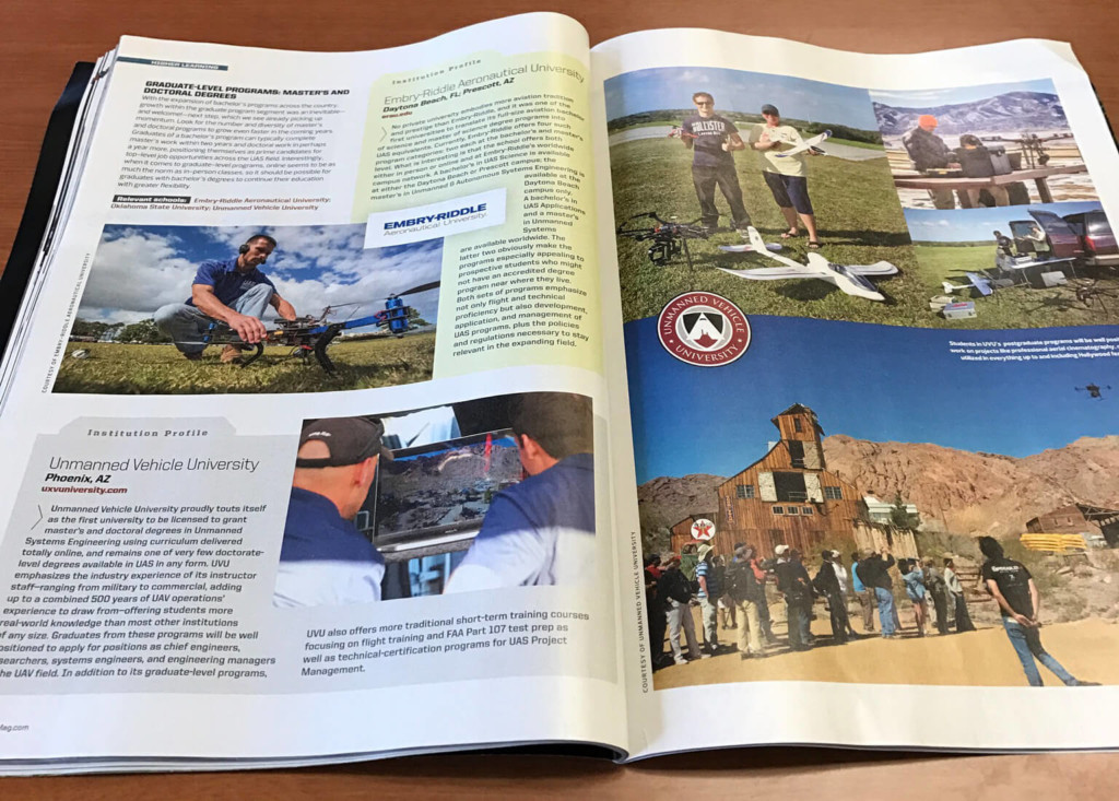 UVU Featured in Rotor Drone Magazine