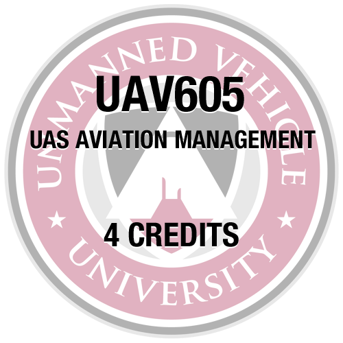 UAV605 UAS Aviation Management