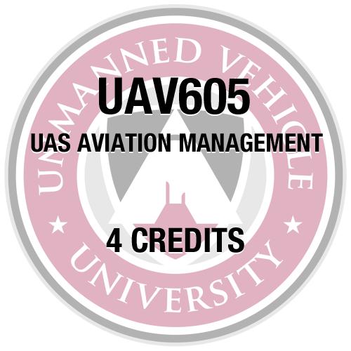 UAV605 UAS Aviation Management