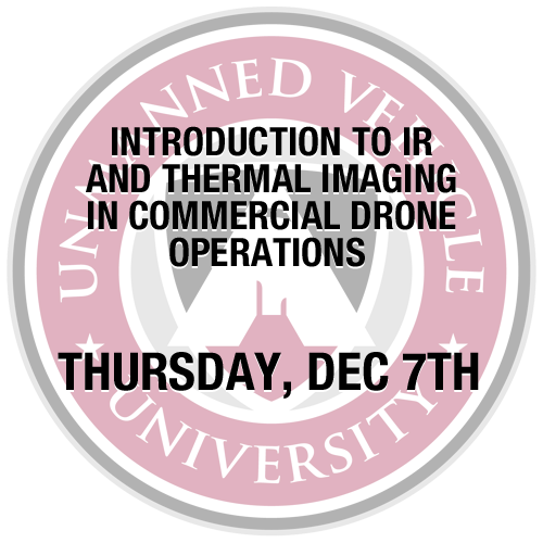Introduction to IR and Thermal Imaging in Commercial Drone Operations