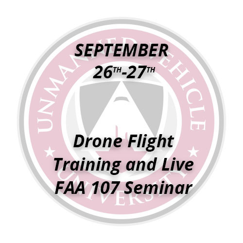 Drone Flight Training and Live FAA 107 Seminar